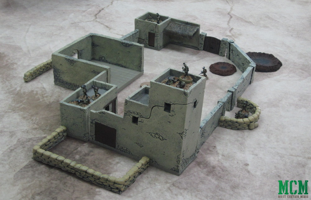 Awesome Bolt Action Terrain - A Desert Fortress