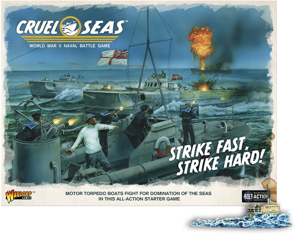 Cruel Seas Starter Box Art