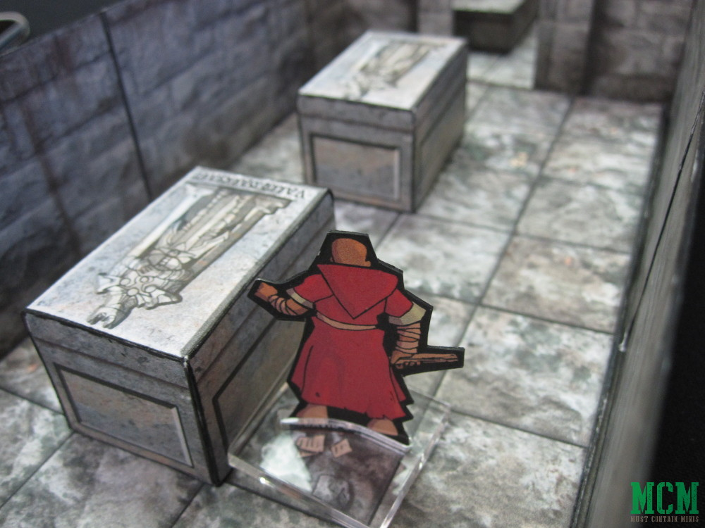 Paper Cultist Miniature for Fantasy Games