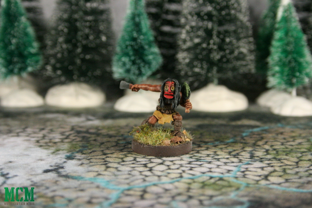 Huron Wendat Witch Doctor or Shaman Miniature
