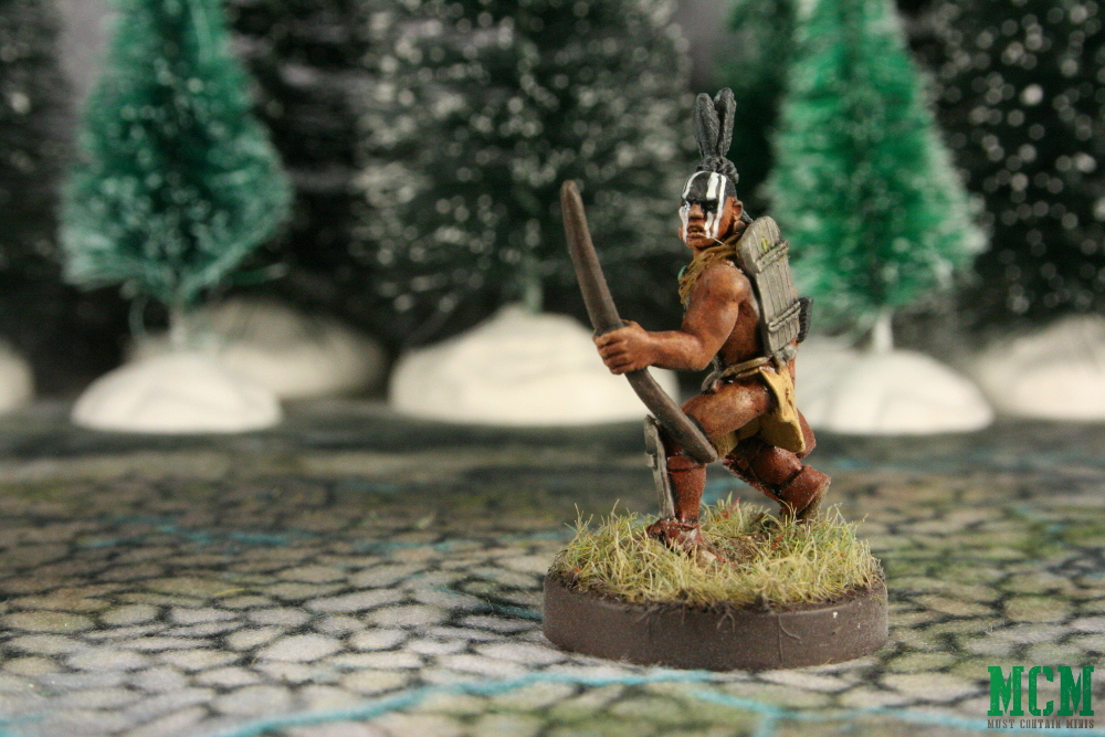 Indigenous Archer Miniature