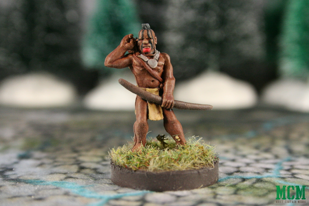 Flint and Feather Miniatures Painted