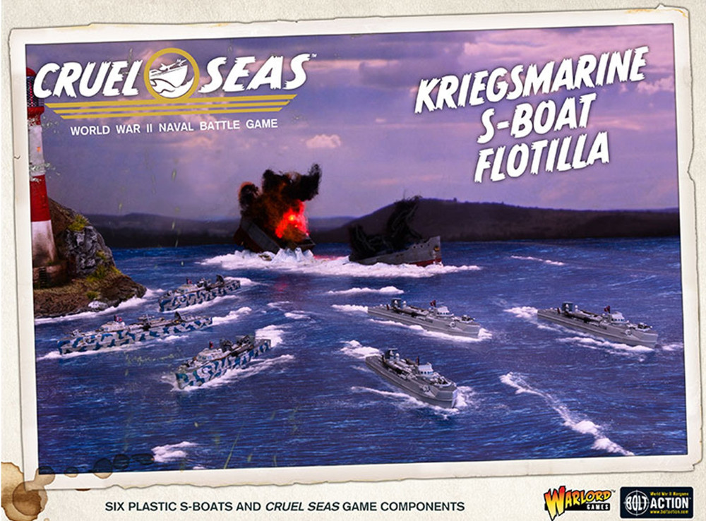 German Kriegsmarine E-boat in Cruel Seas