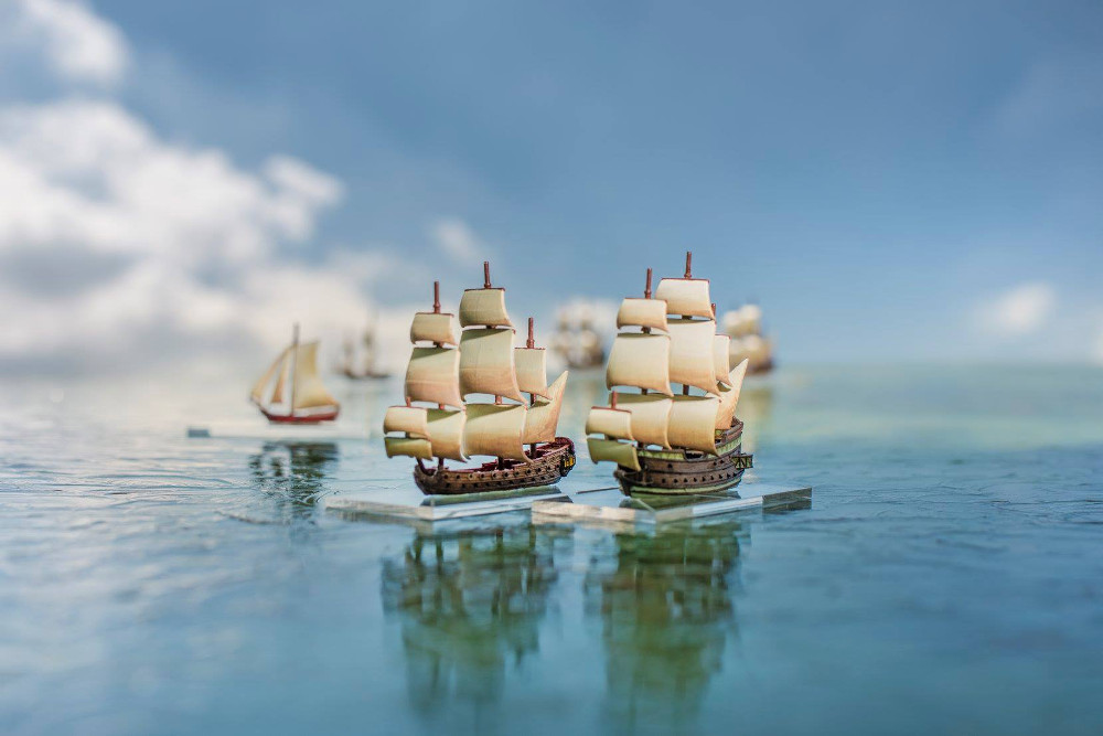 Oak & Iron Miniatures Game Ship Preview Pre Kickstarter