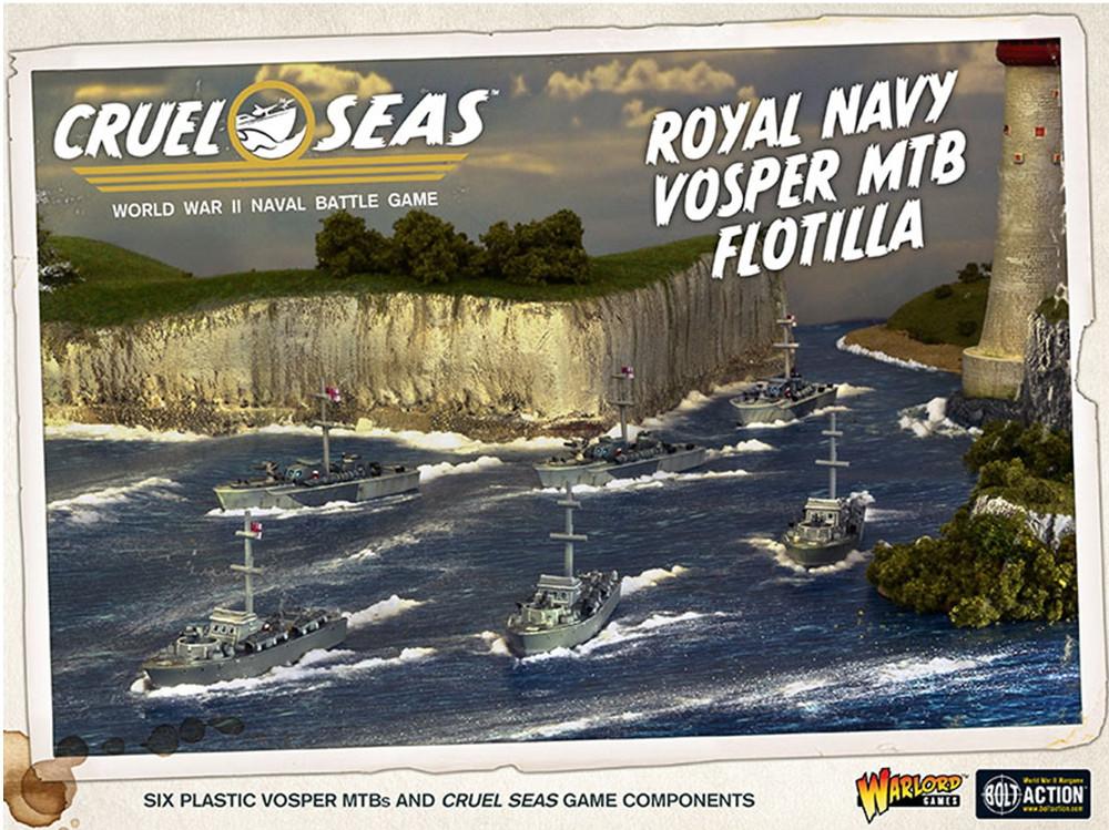 British Vosper Motor Torpedo Boat Flotilla - Cruel Seas