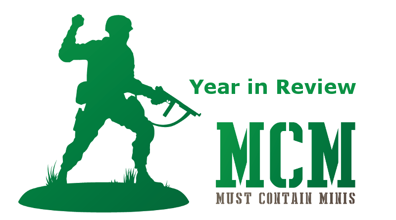 A Year In Review – 2018 – Must Contain Minis