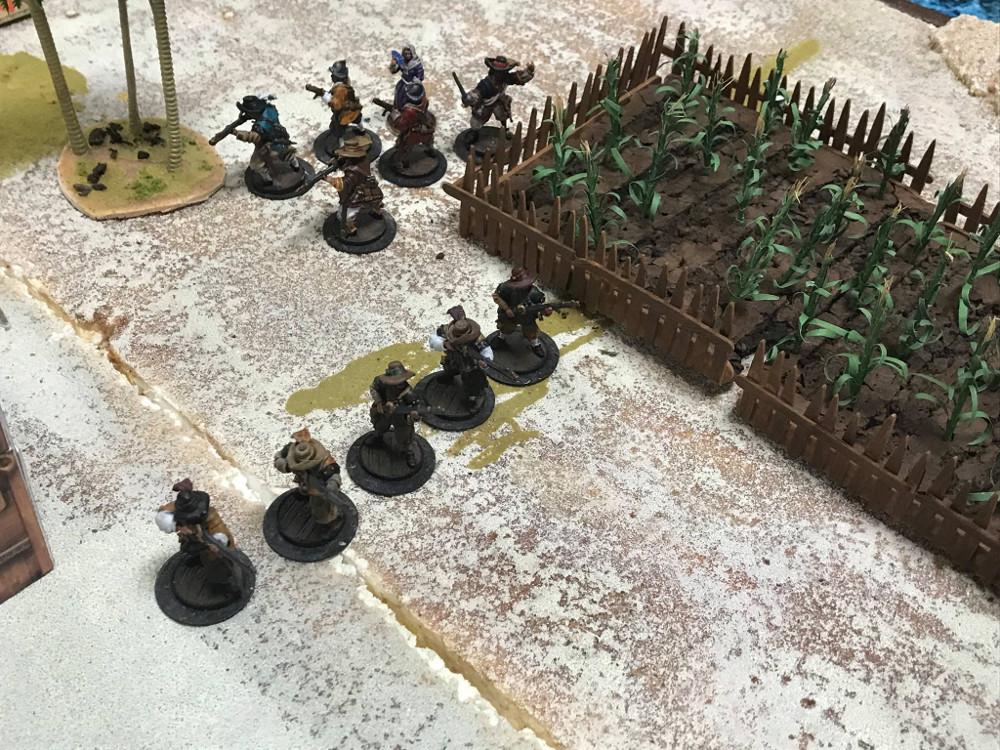 Blood & Plunder Land Battle