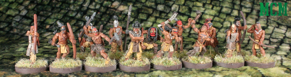 Huron / Wendat 28mm War Party