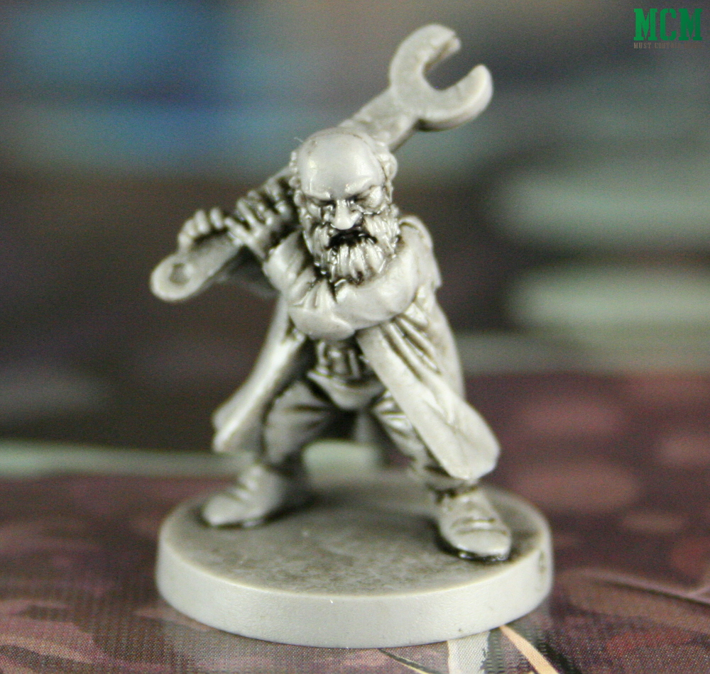 Ginauld the Gnome Miniature from Osprey Games Wildlands