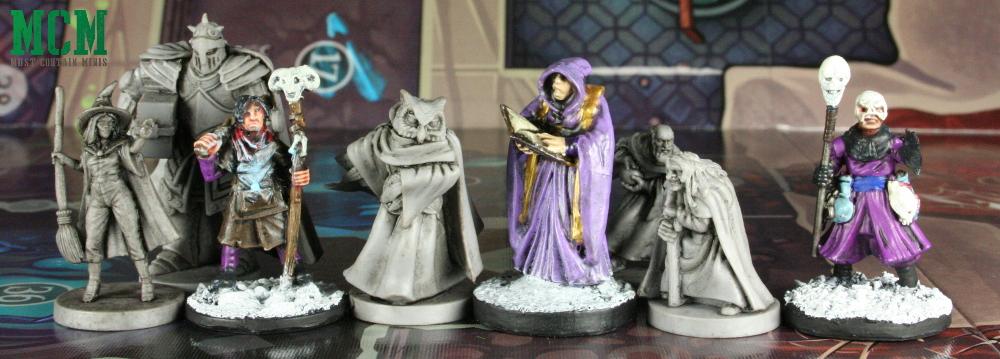 Wildlands Miniatures of the Guild Scale Comparison