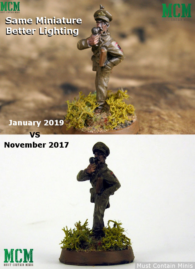 Miniature Photography - The difference lighting makes