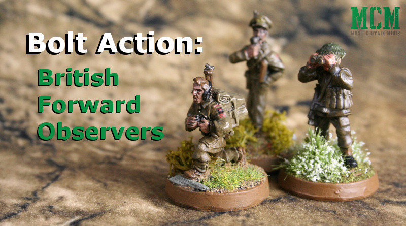 Bolt Action British Forward Observer Showcase WGB-BI-55 Warlord Games