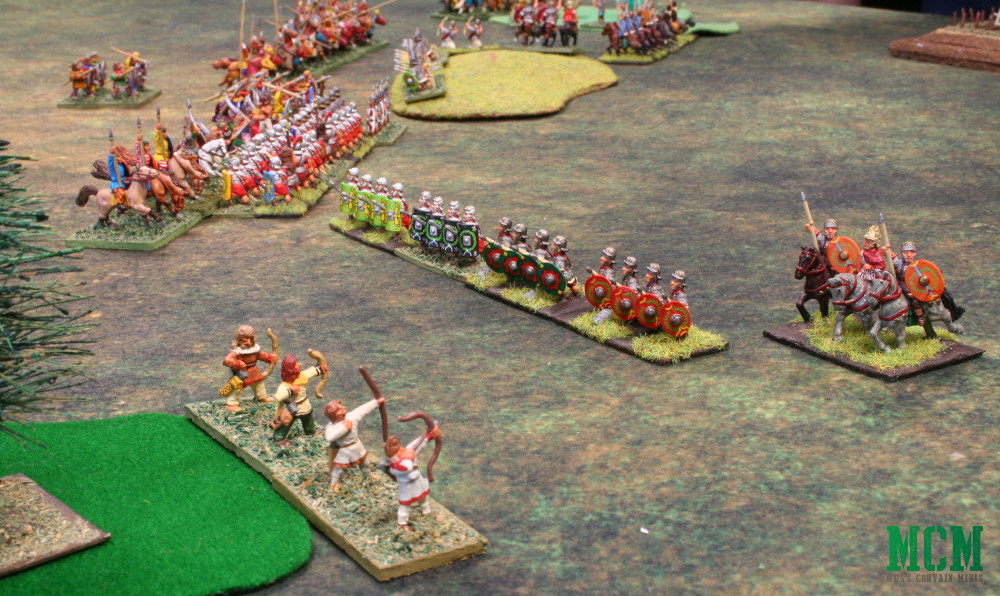 De Bellis Antiquitas on the tabletop - Romans vs another army :)