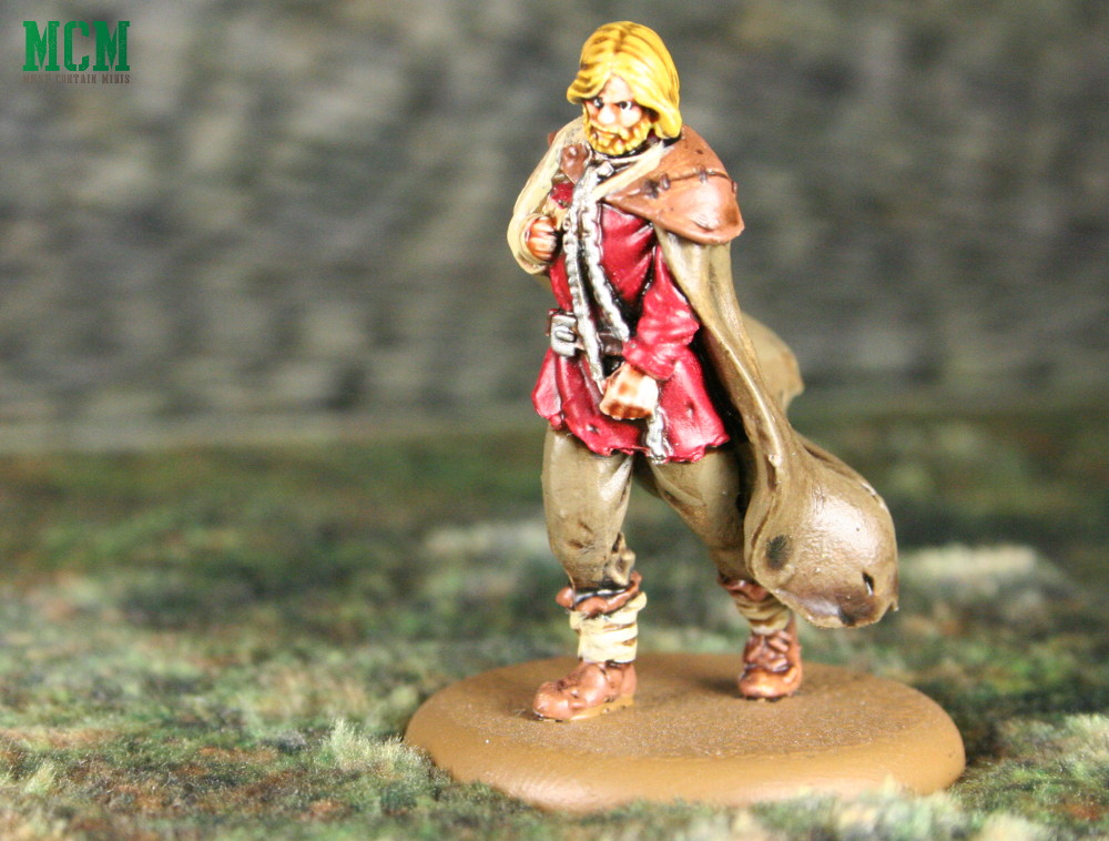 Jaime Lannister injured miniature