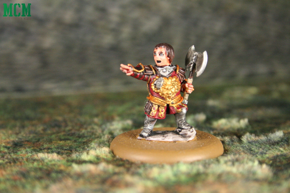 Tyrion Lannister in Battle Miniature. The Imp from Game of Thrones