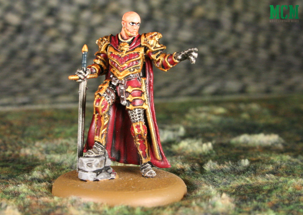 Painted Tywin Lannister Miniature