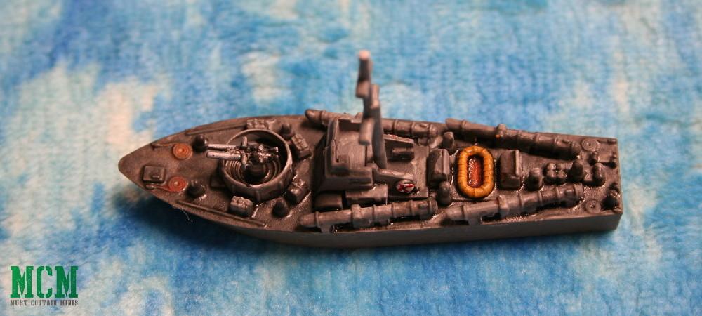 Cruel Seas Painted Vosper MTB Type One - Warlord Games