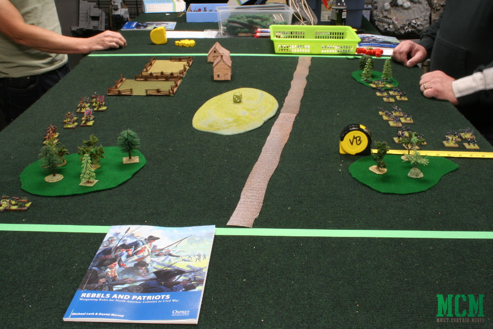 Rebels and Patriots 15mm American Civil War Miniatures Battle Report - Osprey Games
