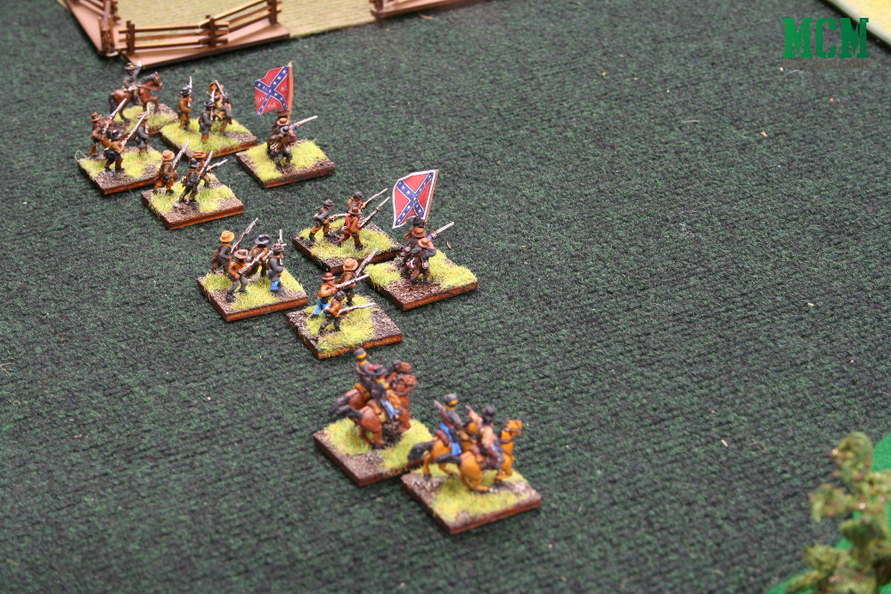 Confederate Army in Rebels and Patriots by Osprey Games.