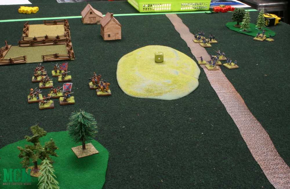 Rebels and Patriots After Action Report American Civil War Miniatures Game