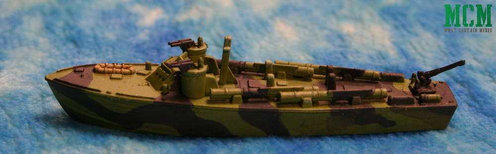 Cruel Seas Painted US Navy PT Boat - Warlord Games