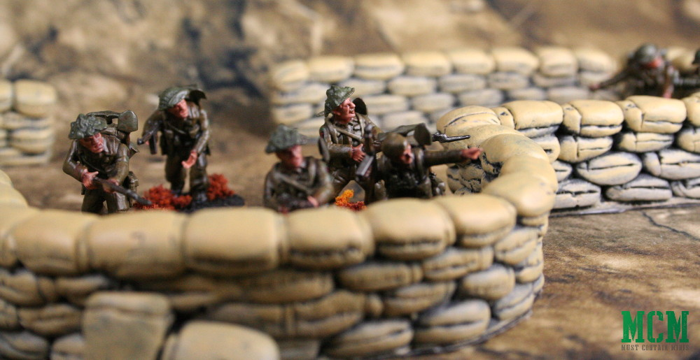28mm terrain barricades Review
