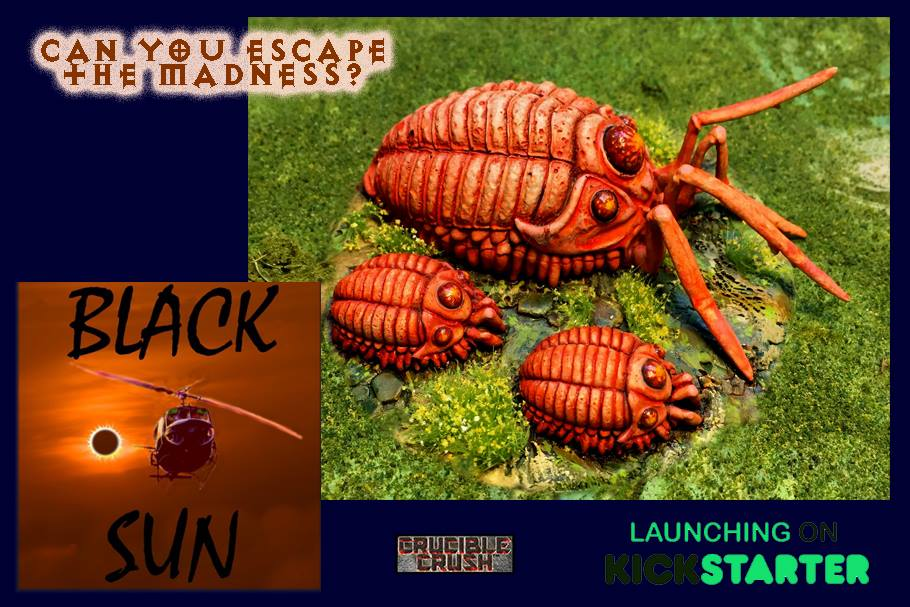 Fury Bugs in Black Sun Miniatures Game