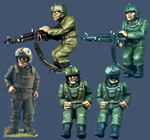 28mm Huey Helicopter Miniatures