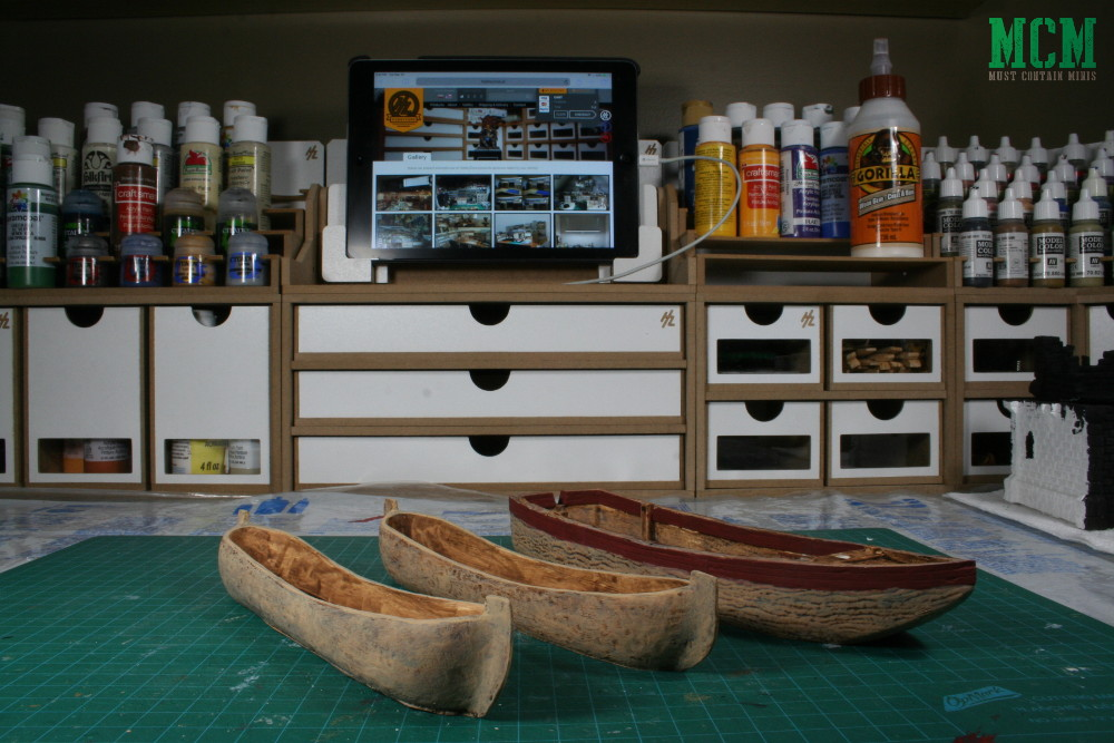 HobbyZone Workshop Modular System for miniature painting with Blood and Plunder ships