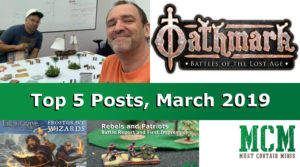 Top 5 Posts of March 2019