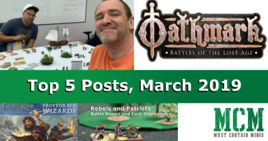 Top 5 Popular Stories on Must Contain Minis for March 2019