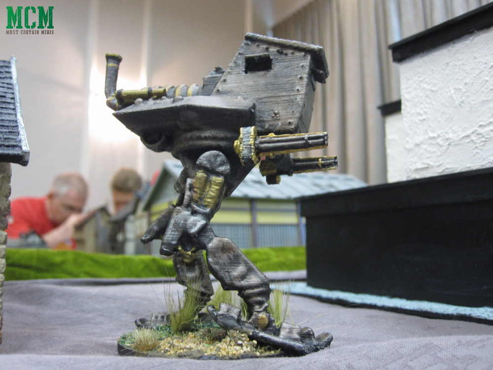 3D Printed 28mm Walker Miniature Steam Punk