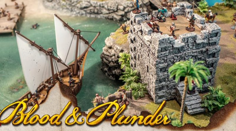 32mm 28mm Terrain for Blood and Plunder and other Miniatures Games