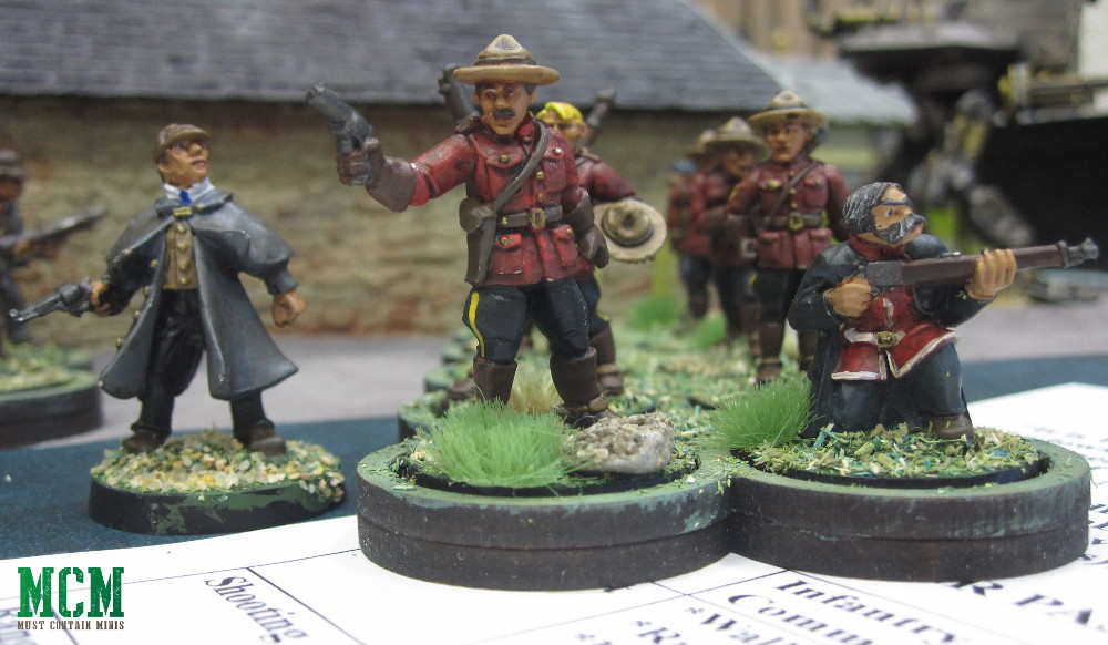 Pulp Figure 28mm miniatures