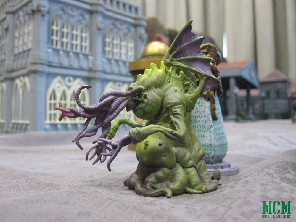 Small Cthulhu in a 28mm Steam Punk Battle Report