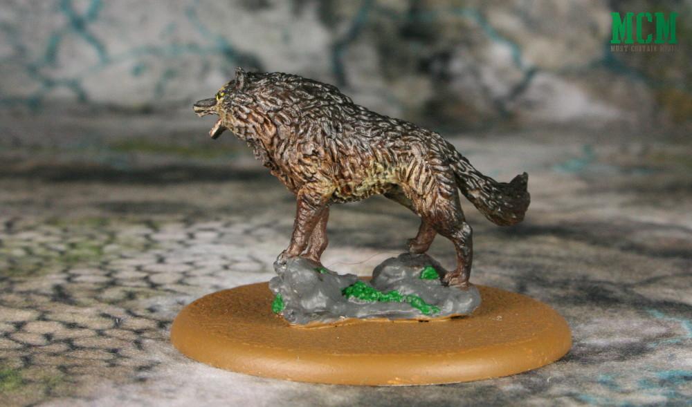 Robb Stark's Dire Wolf Miniature