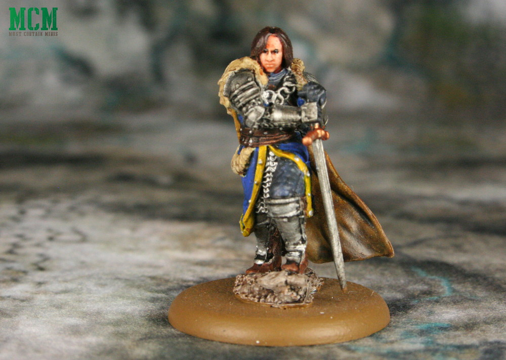 Robb Stark Miniature Painted for a Song of Ice and Fire - Game of thrones miniatures Game