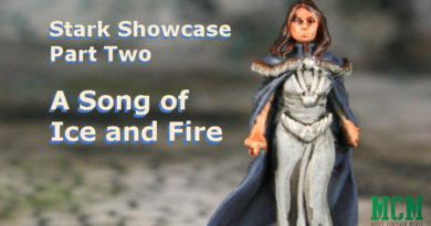 Stark Miniatures - Catelyn Stark - Howland Reed - Ser Brynden Tully - Sworn Sword Captain