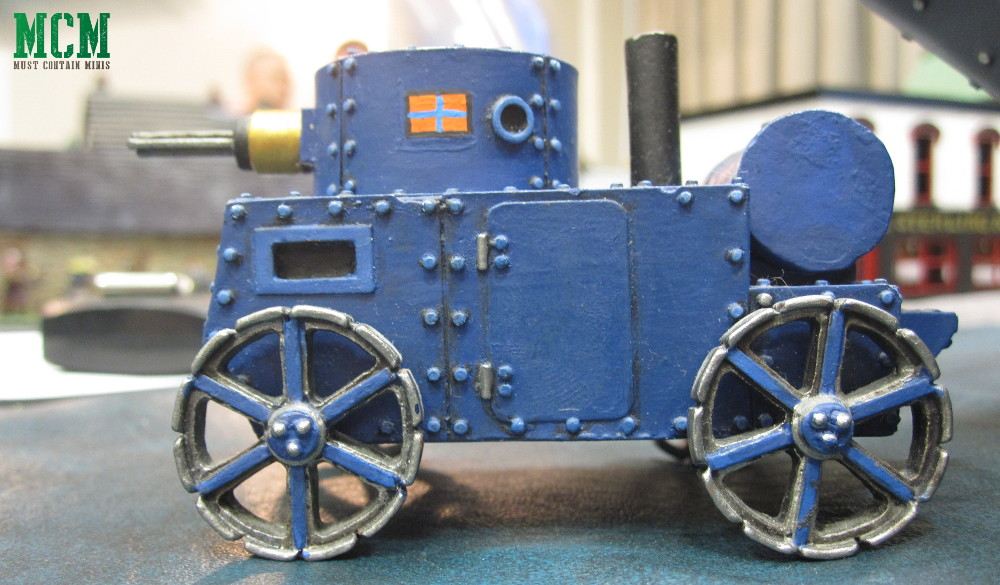 28mm Steam Tank in a Steam Punk Miniatures Game VSF