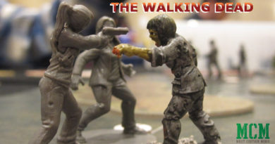 All Out War The Walking Dead 28mm Miniature Showcase