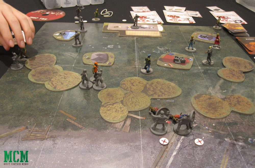 The Walking Dead Tabletop Miniatures Game Battle Report