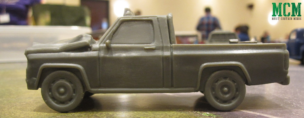 The Walking Dead All Out War Terrain Pack Truck
