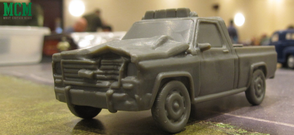 Mantic Games The Walking Dead 28mm Terrain - Vehicles