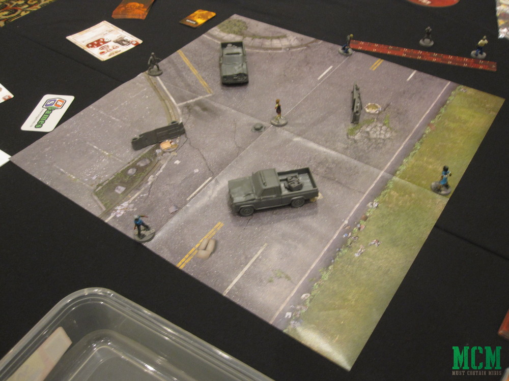 Walking Dead Miniatures Game Battle Report