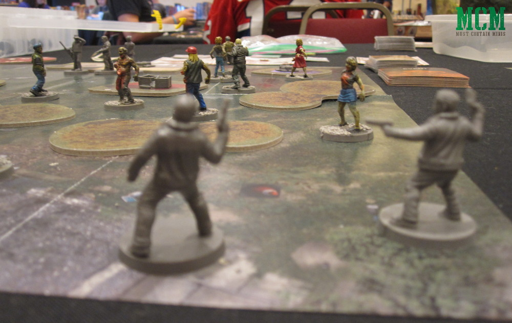The Walking Dead Battle Report - Mantic Games