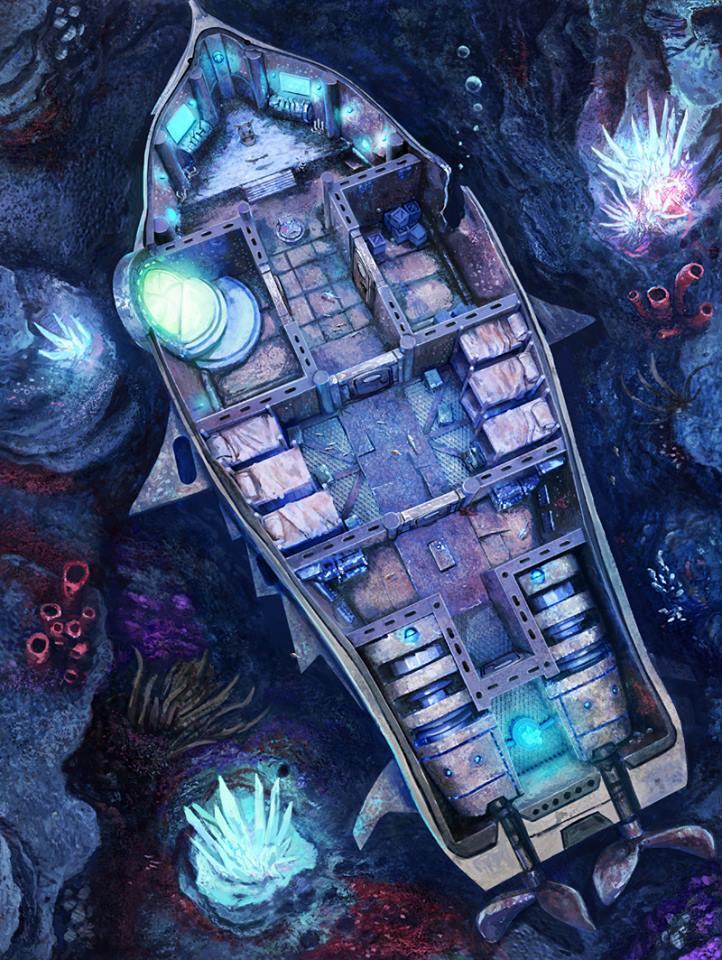 DeepWars Play Mat