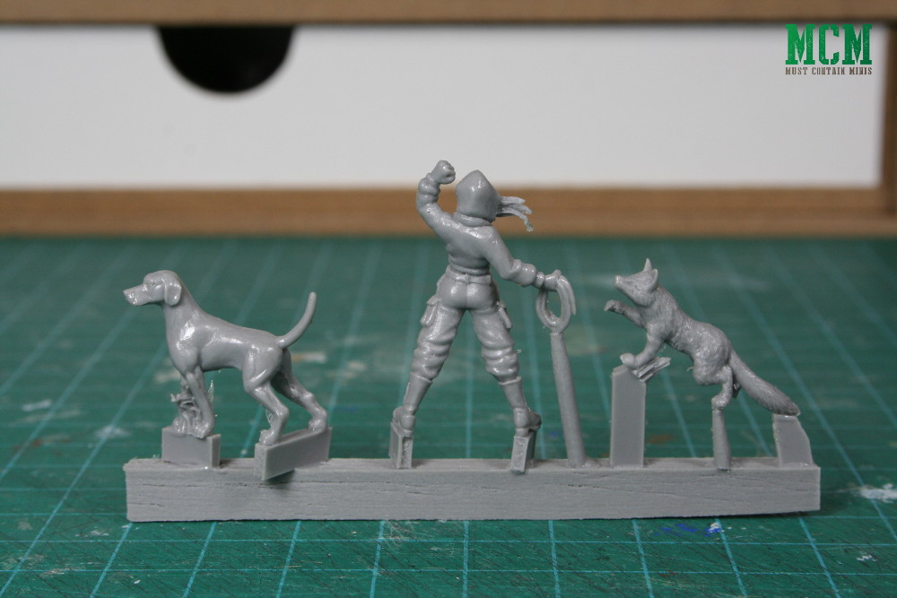 Fox, Hound and Hunt Saboteur miniatures 28mm - tally ho games