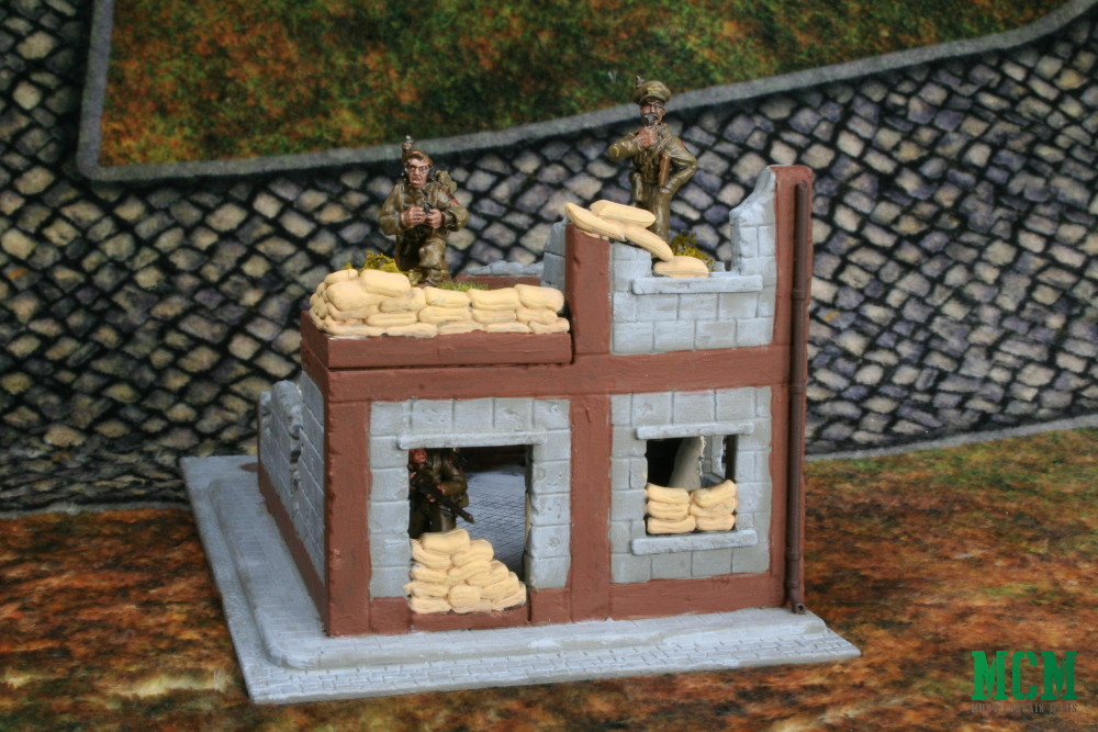 Scale of Warlord Games Wrecked House