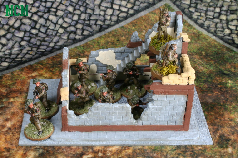 Warlord Games Wrecked House Review - 28mm wargame terrain