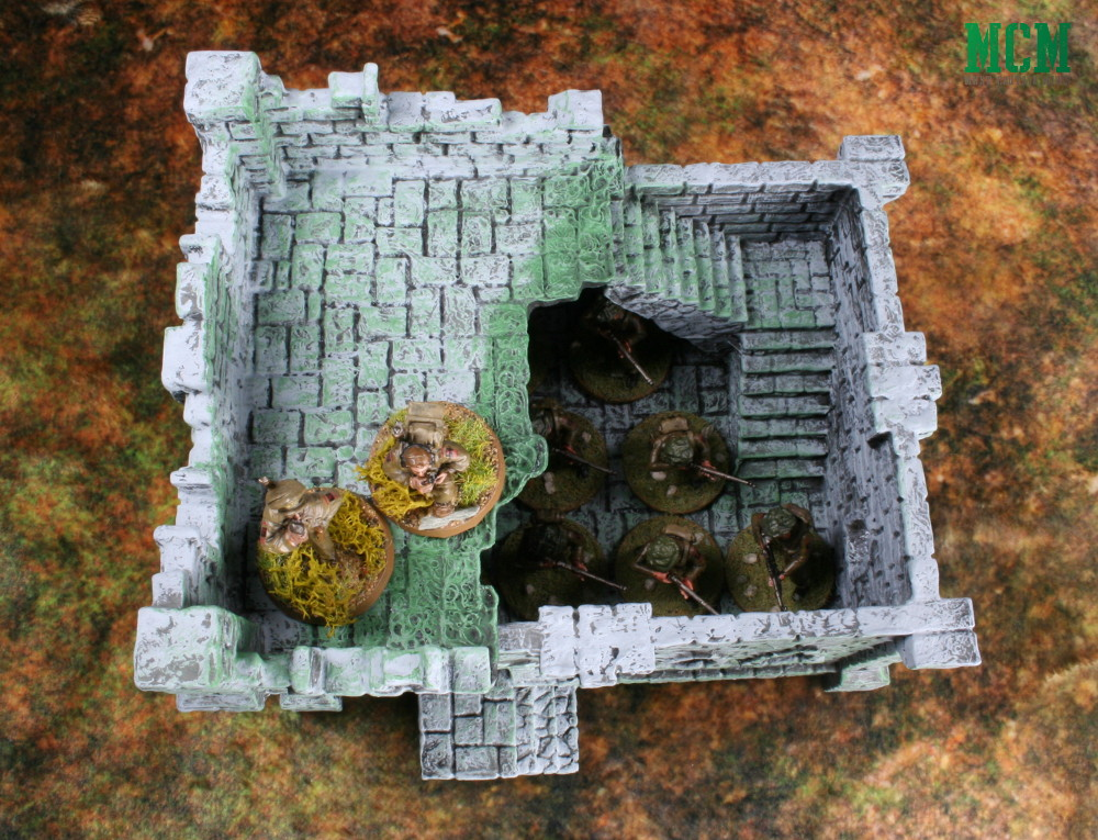 Ruined Building Review - 28mm Terrain Bolt Action